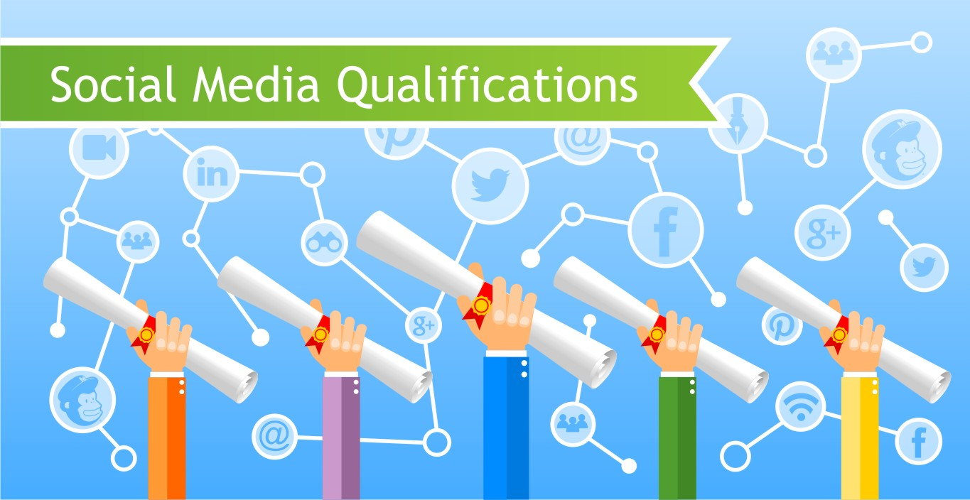 Social Media Qualifications banner