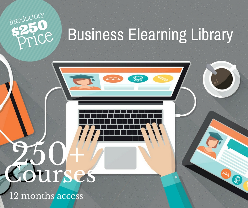 Business elearning Library